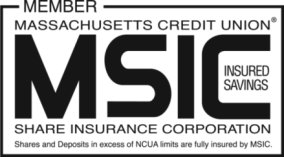 Share and Deposits in excess of NCUA limits are fully insured by MSIC